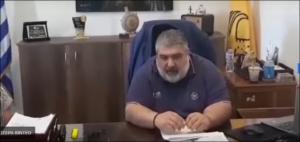 Δηλώσεις Δημάρχου Εορδαίας - Υπογραφή σύμβασης 1ο Γυμνάσιο